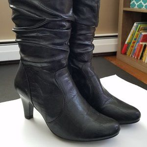 Rialto Hearsay Slouch Boots 6M Black